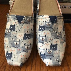 BOBS Cat Party Womens Size 10